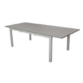 Table caméline brillante à rallonge 180/240 x 98 x 75 cm 501807