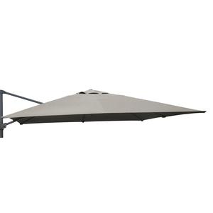 Toile taupe pour parasol déporté de 300 x 400 cm 501841