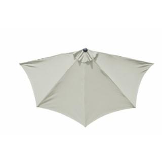 Demi-parasol coloris écru Ø 300 cm 501844
