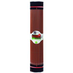 Canisse synthétique Lop marron imitation osier 300x150 cm 504191