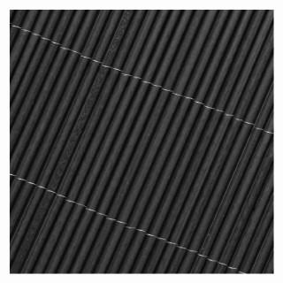 Canisse synthétique coloris gris anthracite 300 x 100 cm  504192