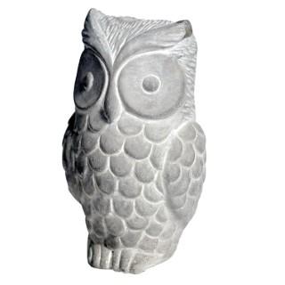 Hibou en béton - 9x8x15 cm 504209