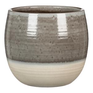 Cache-pot 765 Grey Allure Ø18 x H 17 cm Céramique émaillée 504341