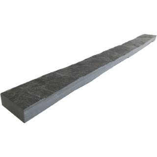 Bordure d'Ardoise couleur noire 100x8x3,5 cm 504449
