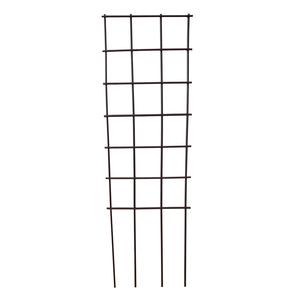 Treillis Urbain à piquer Trapèze gris à petite maille 23,5x100 cm 504475