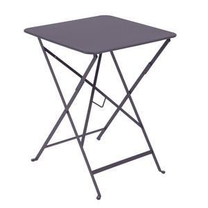 Table pliante carrée Bistro Prune 504477