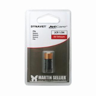 Pile 6 volts lithium pour collier de dressage Jetcare 50451