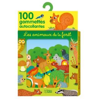 Les Animaux de la Forêt Ma Boîte à Gommettes 3 ans Éditions Lito 504687