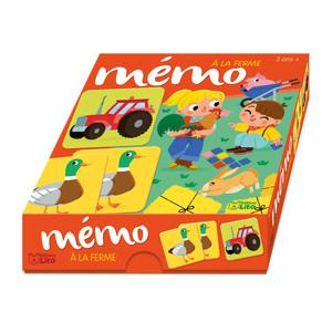 Mémo La Ferme Ma Boîte à Jeux 3 ans Éditions Lito 504723