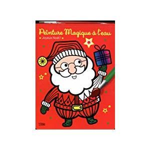 Mon bloc magique de peinture à l'eau Noël éditions Lito 504732
