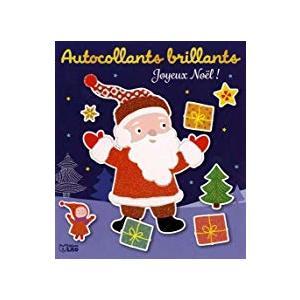 Cahier avec autocollants brillants joyeux Noël éditions Lito 504736