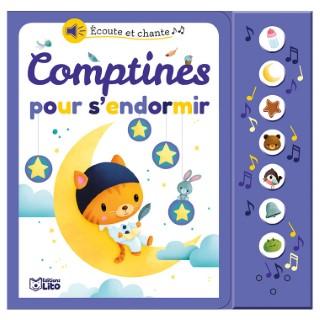 Comptines pour S'endormir Écoute et Chante 18 mois Éditions Lito 504744