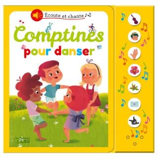Comptines pour Danser Écoute et Chante 18 mois Éditions Lito 504745