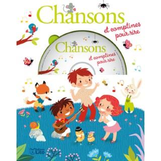 Mes Premières Chansons – Chansons et Comptines pour Rire avec CD 3 ans éditions Lito 504768