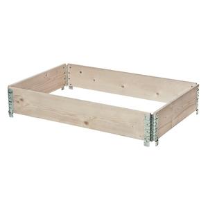 Potager modulable en bois naturel 120x80 cm 505023