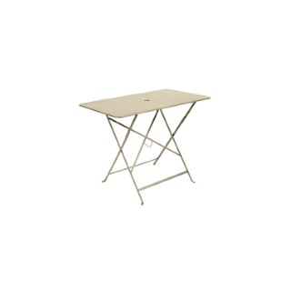 Table pliante bistro en acier coloris verveine de 97 x 57 x 74 cm 505509