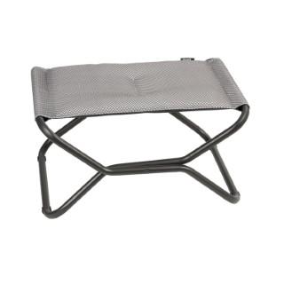 Repose jambes Be Comfort gris argenté de 51 x 66 x 35 cm 506437