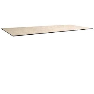 Plateau fin HPL gris sahara de 250 x 90 x 1,3 cm 506557