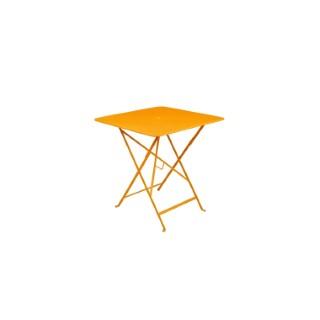 Table pliante en métal BISTRO couleur miel L71xl71xh74 507293