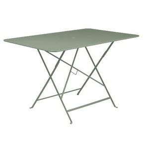 Table pliante en métal BISTRO couleur cactus L71xl71xh74 507467