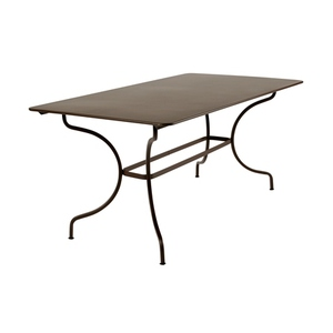 Table de jardin Manosque FERMOB Rouille L160xl90xh74 507564