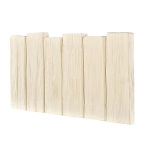 Bordurette aspect Pierre beige 50x2,8x26 cm 509958