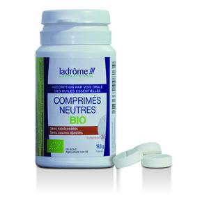 Comprimés neutres bio Ladrôme pour huiles essentielles - 30 comprimés 51373