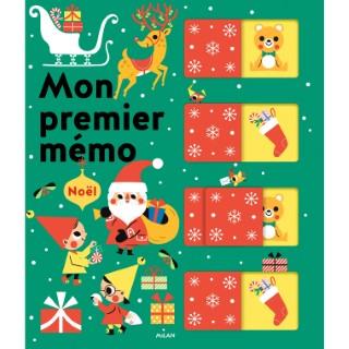 Mon Premier Mémo de Noël  Mon Premier Mémo 2 à 4 ans Éditions Milan 521996