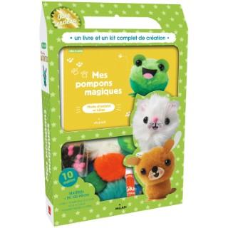 Mes Pompons Magiques Activités Jeux et Agendas 4 à 7 ans Éditions Milan 522203