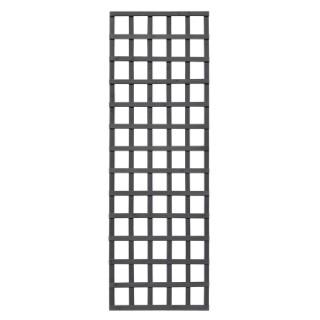 Treillis Mariana droit en bois cérusé gris 180x60 cm 523530