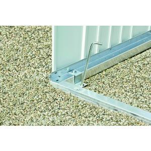 Cadre de sol pour abri AvantGarde acier taille L 523562