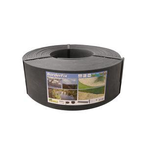 Bordure de jardin Borderfix noir en PVC 15 mètres H 14 cm 523564