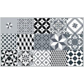 Paillasson Mix et Match gris coloris gris 116x68 cm 523961