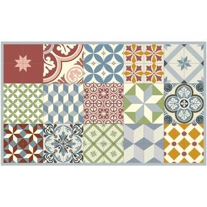 Paillasson Mix et Match pastel coloris multicolore 97x58 cm 523962