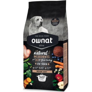 Ownat Ultra Medium Light pour chien – 14 kg 524143