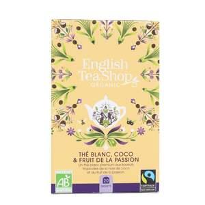 Thé blanc bio coco et fruit de la passion - 20 sachets 527951