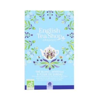 Thé blanc bio à la myrtille et fleur de sureau - 20 sachets 527956