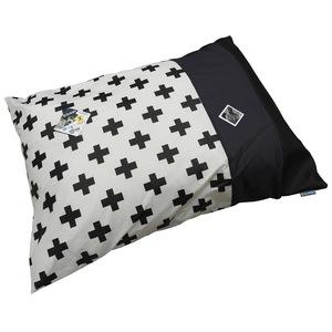 Edredon confort pour chien avec motifs croix de 90 cm 528067