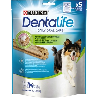 Snack à mâcher Dentalife Medium pour chien de taille moyenne 115 g 529173