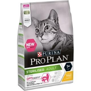 Croquettes PP pour chat stérilisé adulte au poulet en sac de 3 kg 529180