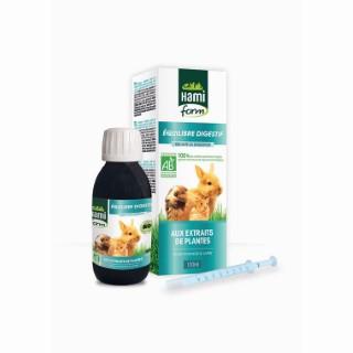 Complément alimentaire équilibre digestif bio pour rongeurs de 120 ml 529205
