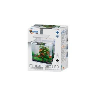 Aquarium Qubiq 30 Led Blanc 32x32x42,5 cm 529258