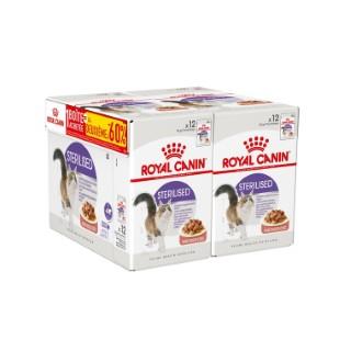 Repas en sauce chat adulte stérilisé sachets fraîcheur 12 x 85 g 534982