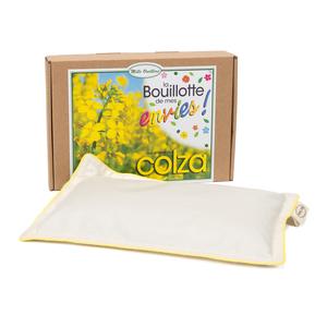 Bouillotte aux Graines de Colza Boîte 18 x 25 cm beige 535119