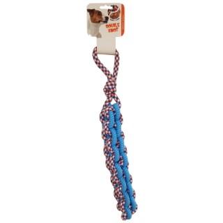 Jouet pour chien scoubidou twist rope - 50 cm 535146