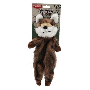 Jouet pour chien renard furry skinneeez - 33 cm 535149