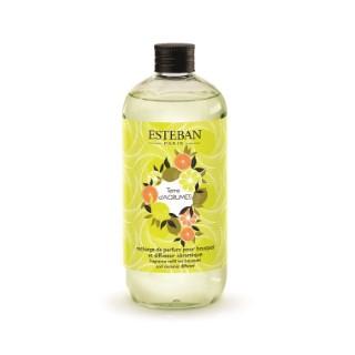 Recharge de parfum terre d'agrumes pour bouquet et diffuseur de 500 ml 535523