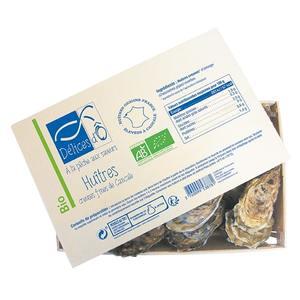 Huîtres creuses de Cancale n°3 - bourriche de 24 (2kg) 535686