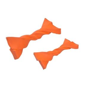 Jouet pour chien Twist en caoutchouc orange taille S 535880