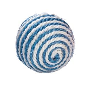 Balle Enjoy en sisal bleu Ø 7 cm 535889